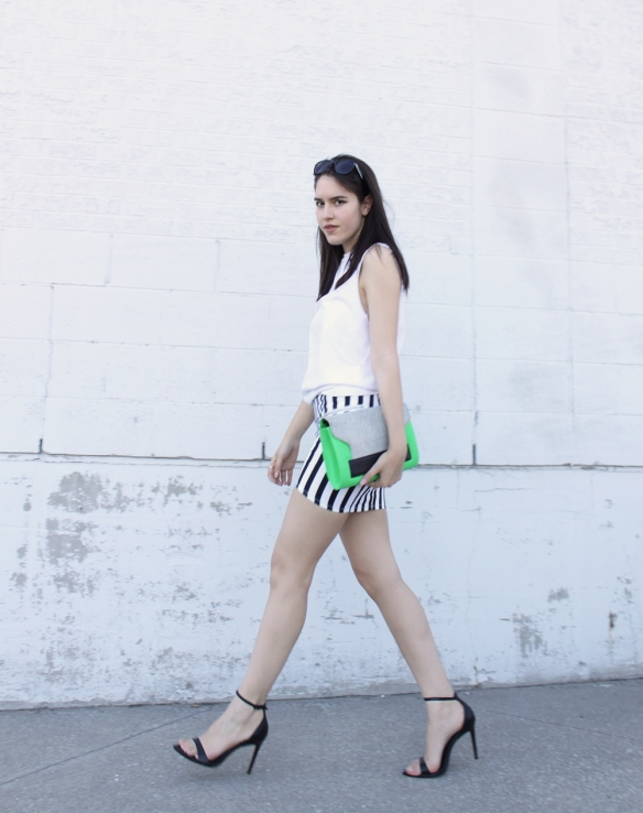 stripe-skirt-colourblock-clutch